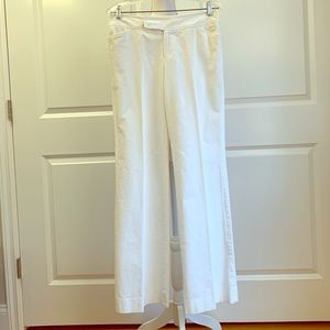 Lilly Pulitzer white corduroy pants